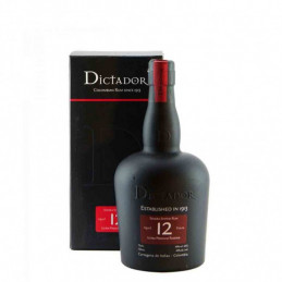 DICTADOR 12 YEARS 0,7 ltr