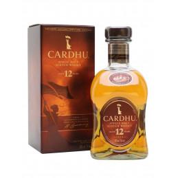 CARDHU 12 YEARS + GB  0,7 ltr