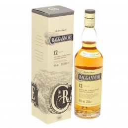 CRAGGANMORE 12 YEARS + GB...