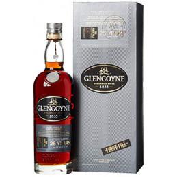 GLENGOYNE 25 YEARS + GB...