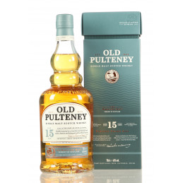OLD PULTENEY 15 YEARS + GB...