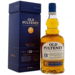 OLD PULTENEY 18 YEARS + GB...