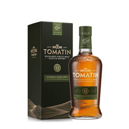 TOMATIN 12 YEARS +GB  0,7 ltr