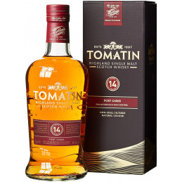 TOMATIN 14 YEARS PORTWOOD +...