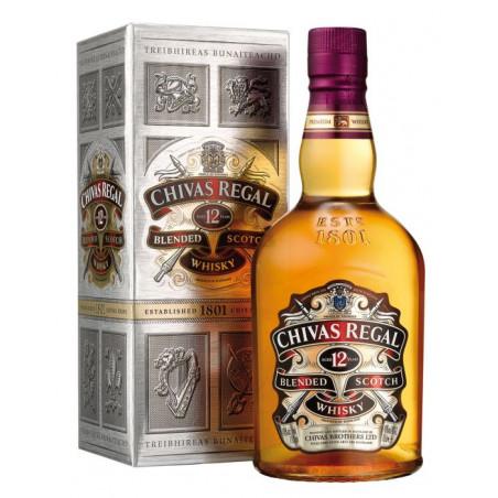 CHIVAS REGAL 12 YEARS + GB  1 ltr