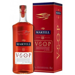 MARTELL VSOP AGED IN RED...