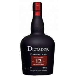 DICTADOR 12 YEARS + GB 0,7 ltr