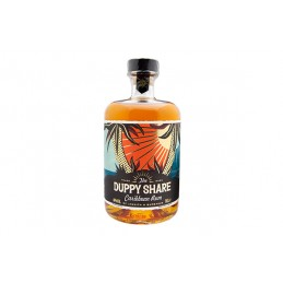 THE DUPPY SHARE RUM  0,7 ltr