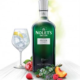 NOLET'S SILVER DRY GIN +...