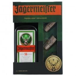 JAGERMEISTER + 3 METAL CUP...