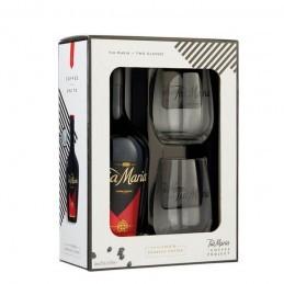 TIA MARIA + 2 GLASSES  0,7 ltr