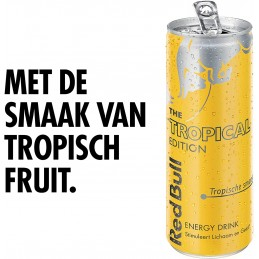 RED BULL TROPICAL EDITION...
