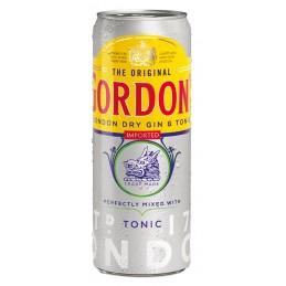 GORDON'S & TONIC (12X25CL...