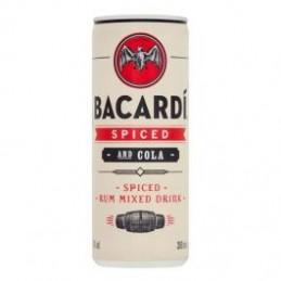 BACARDI SPICED & COLA...