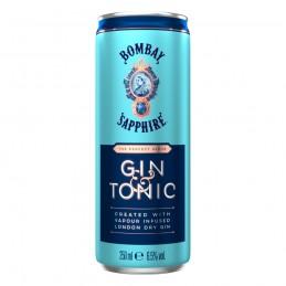 BOMBAY SAPPHIRE GIN & TONIC...