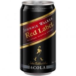 JOHNNIE WALKER RED & COLA...