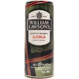 WILLIAM LAWSON'S & COLA...
